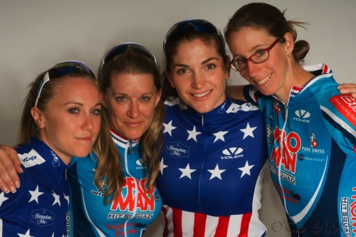 Shelley Olds, Nicola Cranmer, Cari Higgins, and Rachel Lloyd.