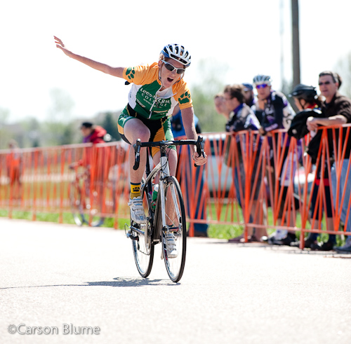 Carla Swart (Lees McRae) wins her second USA Cycling Collegiate National Road Race Championship.